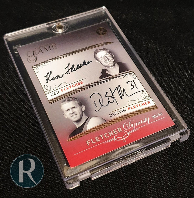 2020 Regal Greats of the Game Dynasty Dual Signature Card - Ken and Dustin Fletcher