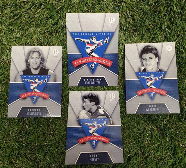 2020 EJ Whitten Foundation Legends Game Card Set
