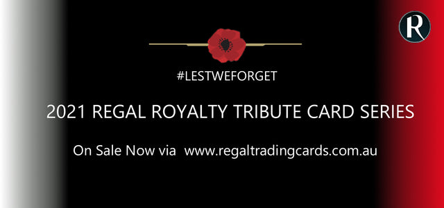 2021 Regal Royalty Tribute Card Series - Part 1