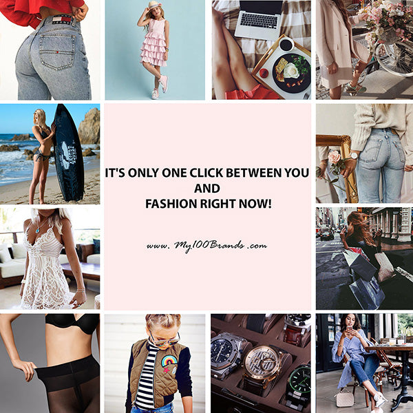It's only one click between you and fashion right now!