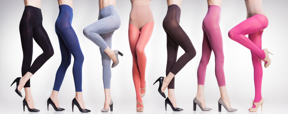 5 Adult Ways to Wear Colorful Tights