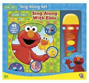 Book Box And Module Elmo Microphone Sing Alone Set by Sesame Street - My100Brands