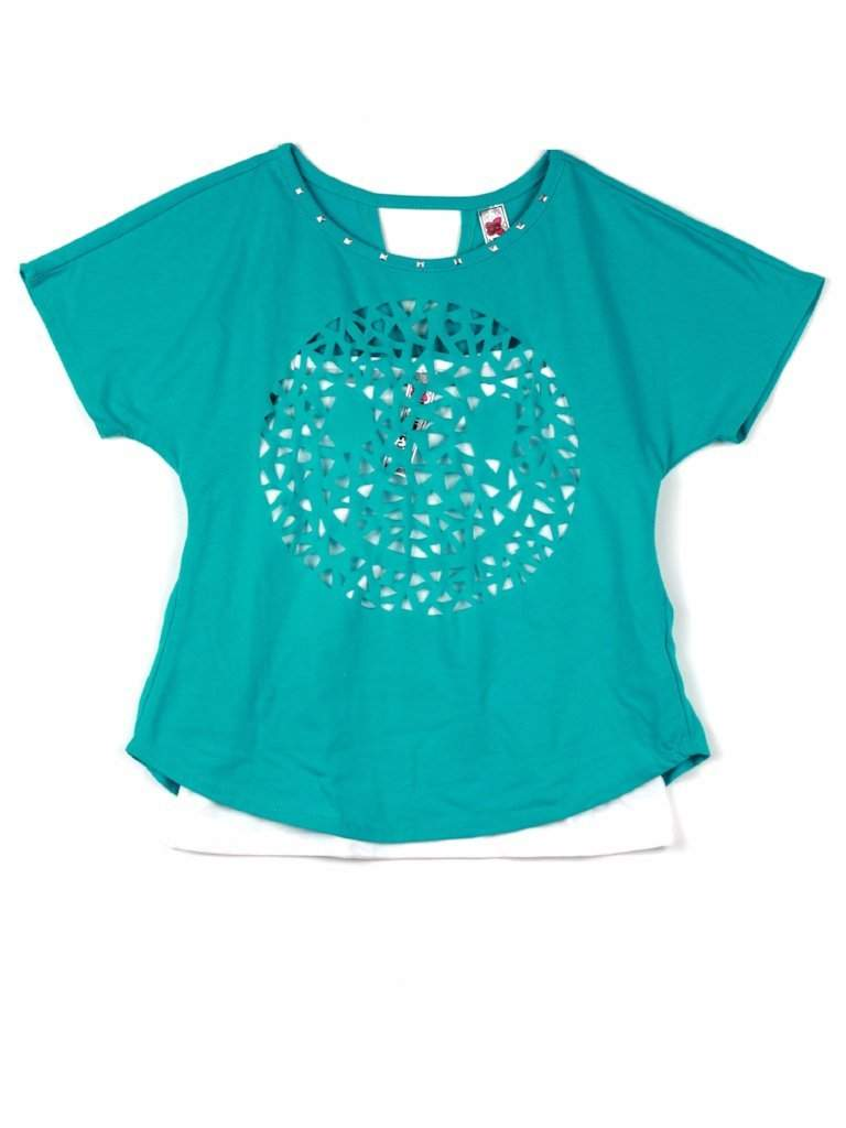 Beautees Girl's 2-Pc T-Shirt by Beautees - My100Brands