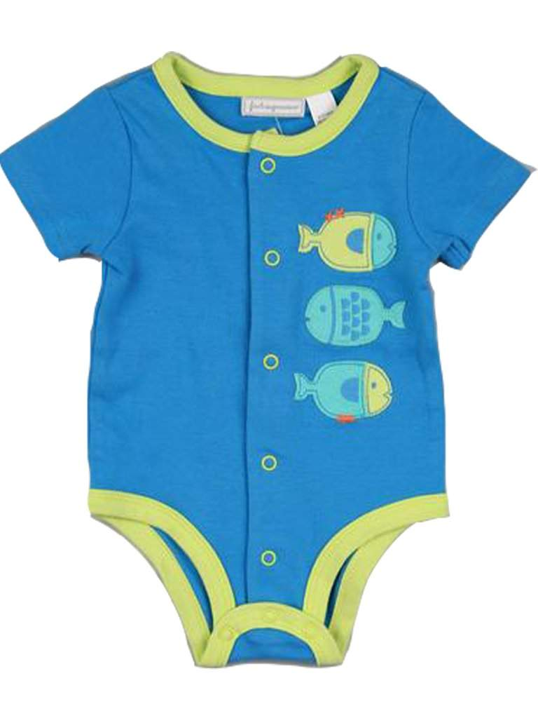 Baby Boys' Fishes Bodysuit by My100Brands - My100Brands