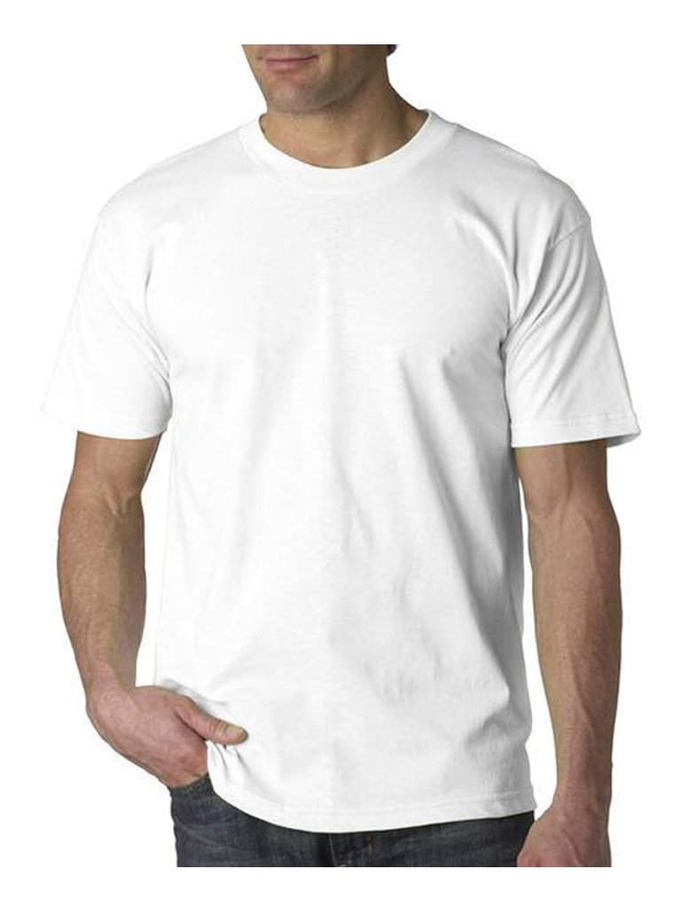 Men's White T-Shirt by My100Brands - My100Brands