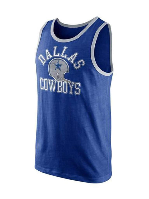 Dallas Cowboys Mens Rewind Tank Top by Nike - My100Brands