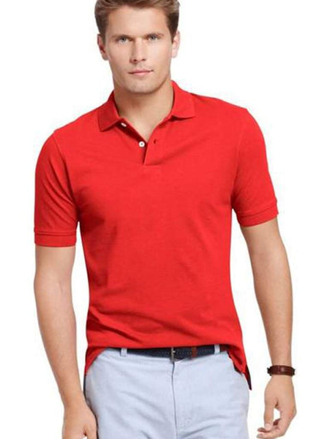 Izod Polo T-shirt Red by Izod - My100Brands