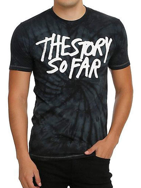 The Story So Far Tie Dye Men's T-Shirt by My100Brands - My100Brands