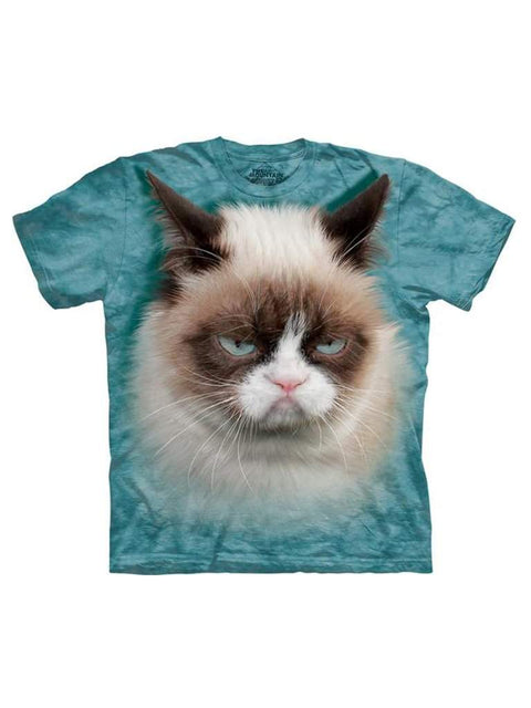 The Mountain Grumpy Cat T-Shirt by The Mountain - My100Brands