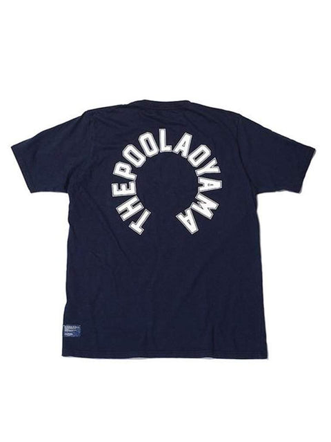 The Pool Aoyama Circle Logo Tee - Navy by The Pool Aoyama - My100Brands