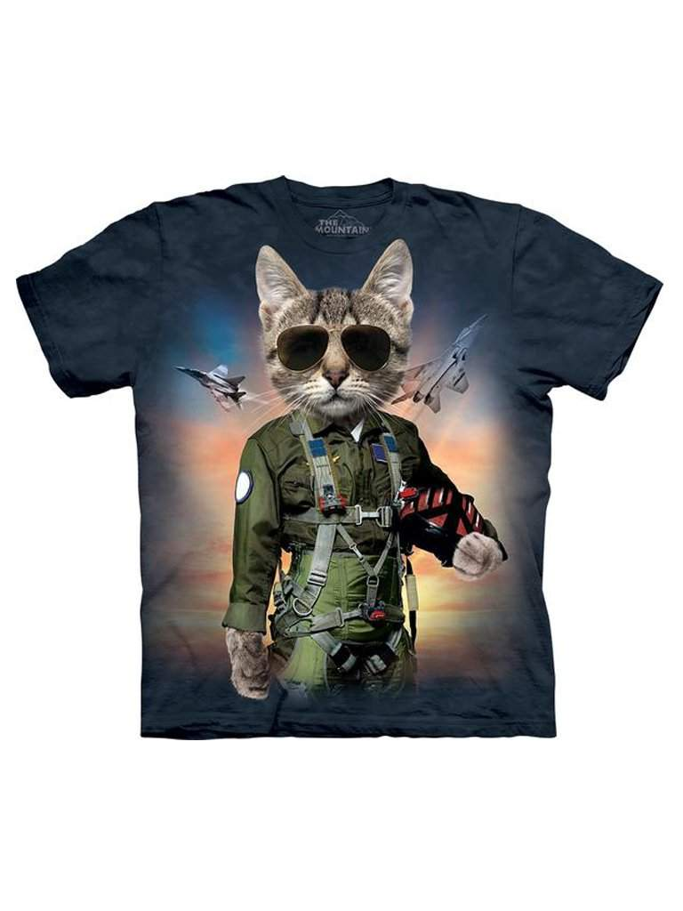 Tom Cat T-Shirt by The Mountain - My100Brands