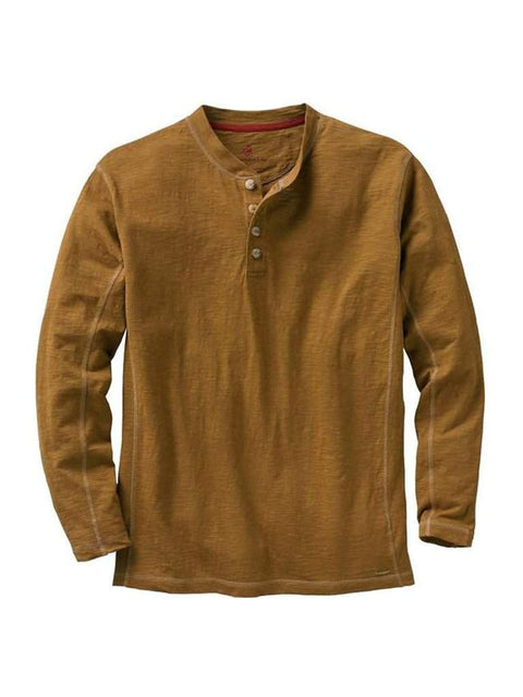 Legendary Whitetails Men's Maverick Slub Henley by Legendary Whitetails - My100Brands