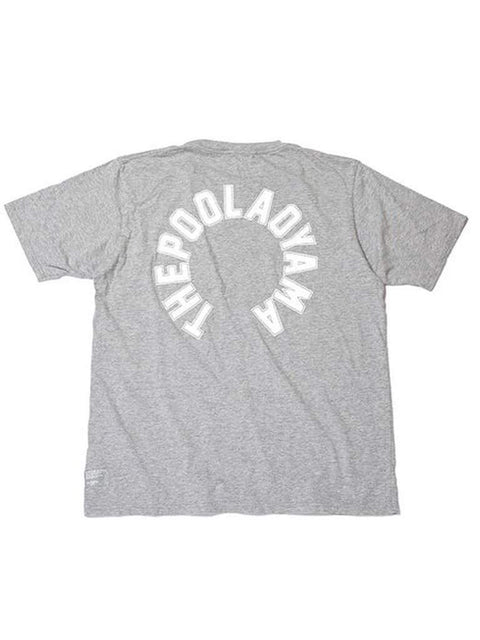 The Pool Aoyama Circle Logo Tee - Grey by The Pool Aoyama - My100Brands