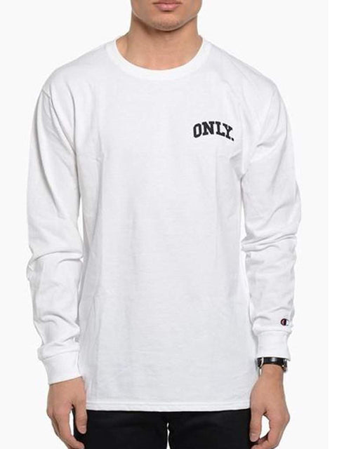 Only NY x Champion Varsity Longsleeve Mens by Champion - My100Brands