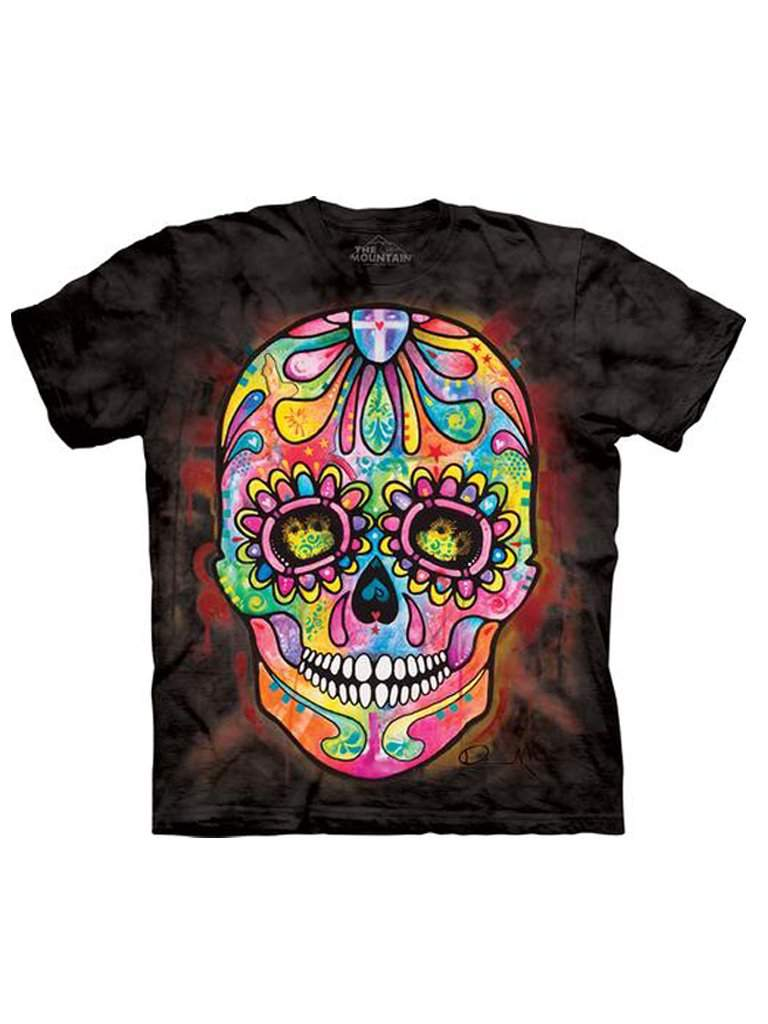 Day of the Dead T-Shirt by The Mountain - My100Brands