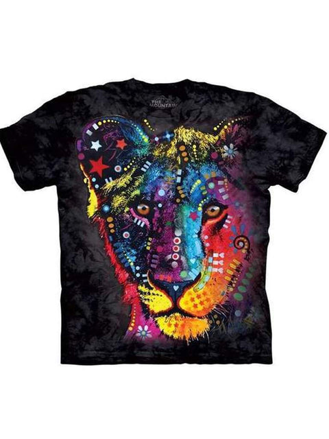 Russo Lion T-Shirt by The Mountain - My100Brands