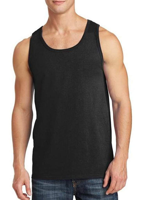 Men's Black Tank Top by My100Brands - My100Brands