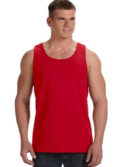 Men's Red Tank Top by My100Brands - My100Brands
