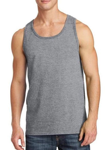 Men's Gray Tank Top by My100Brands - My100Brands