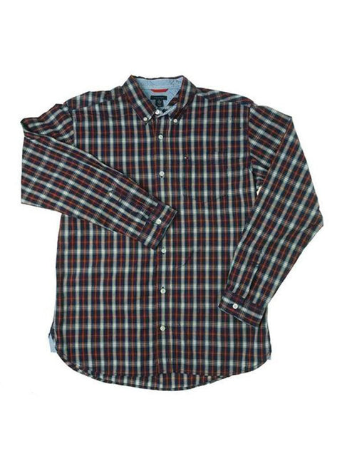 Tommy Hilfiger Boys' Long Sleeve Shirt by Tommy Hilfiger - My100Brands