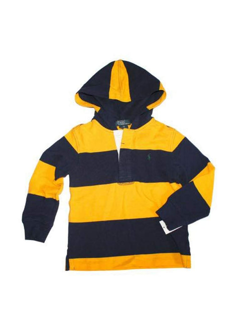 Ralph Lauren Polo Boys Rugby Hoodie Pullover by Ralph Lauren - My100Brands