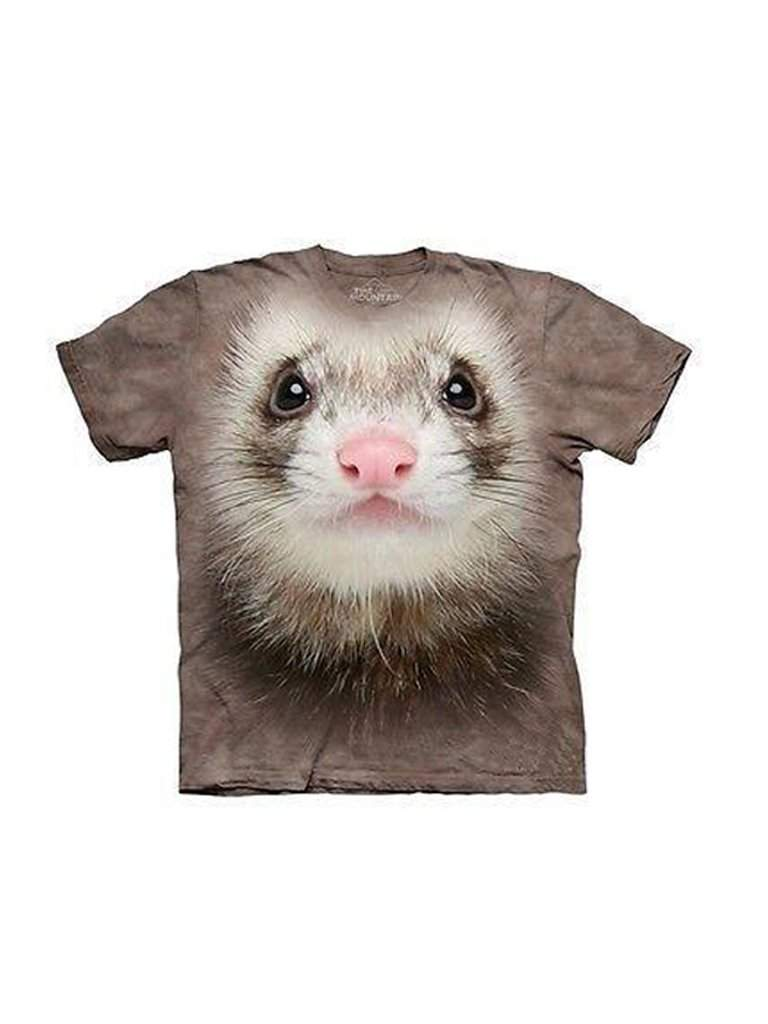 Ferret T-Shirt by The Mountain - My100Brands