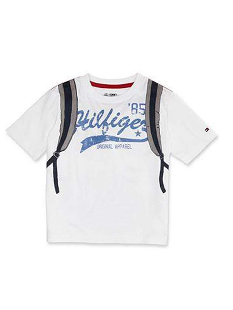 Tommy Hilfiger Little Boys' Backpack T-Shirt by Tommy Hilfiger - My100Brands