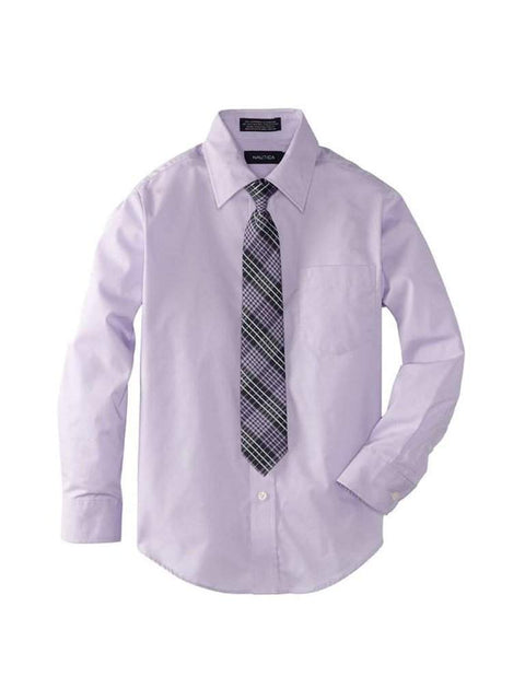 Nautica Boys' Shirt and Tie Set by Nautica - My100Brands