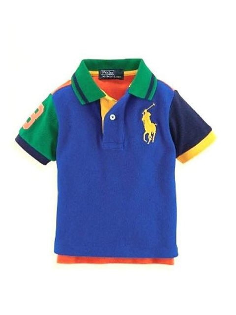 Ralph Lauren Boys' Colorblock Polo by Ralph Lauren - My100Brands