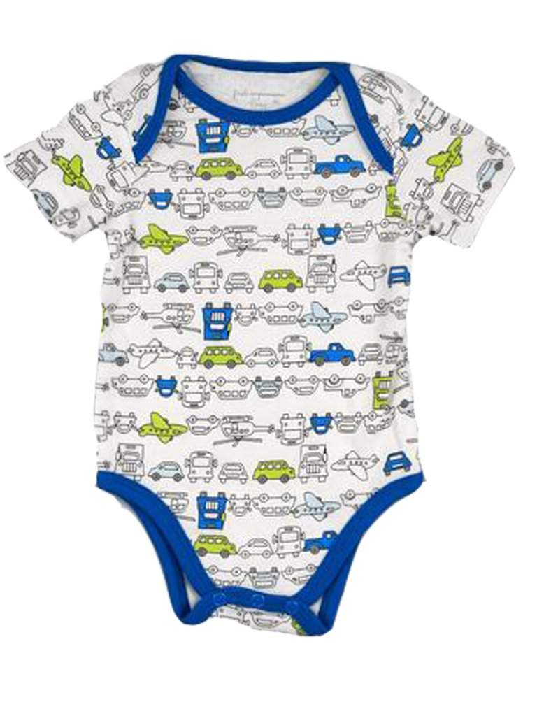 Baby Boys' Printed Transport Bodysuit by My100Brands - My100Brands