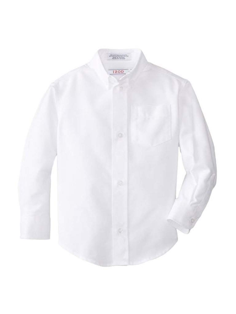 Izod Boys' Long Sleeve Oxford Shirt by Izod - My100Brands