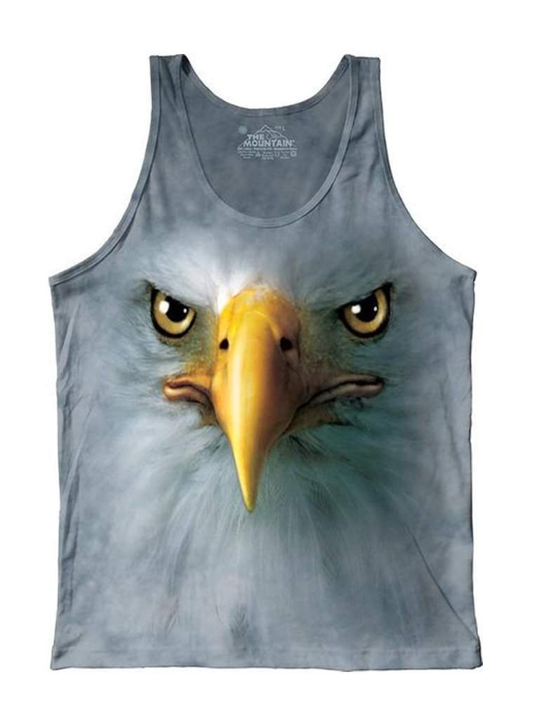 Eagle Face Junior Tank Top by The Mountain - My100Brands