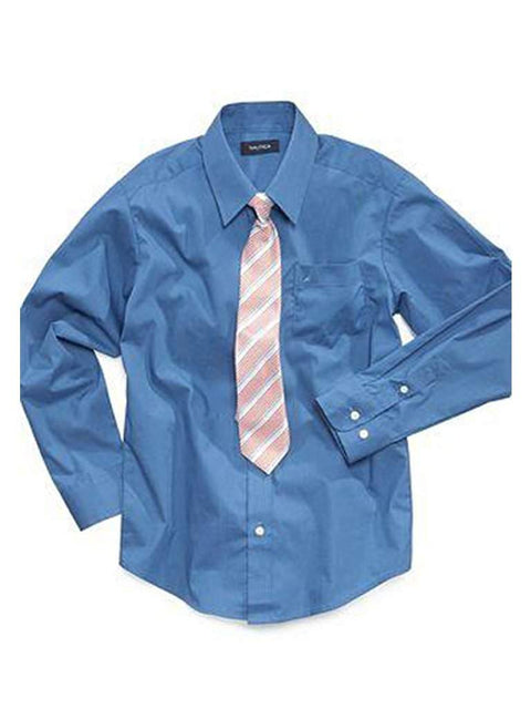 Nautica Boys' Shirt and Tie by Nautica - My100Brands