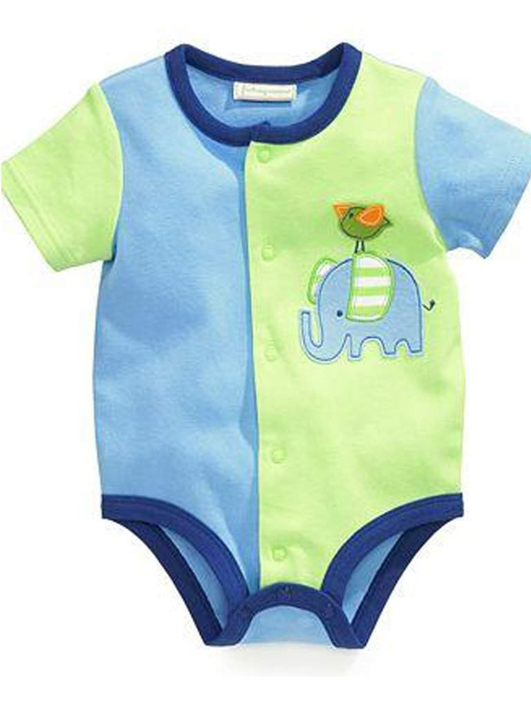 Baby Boys' Elephant Bodysuit by My100Brands - My100Brands