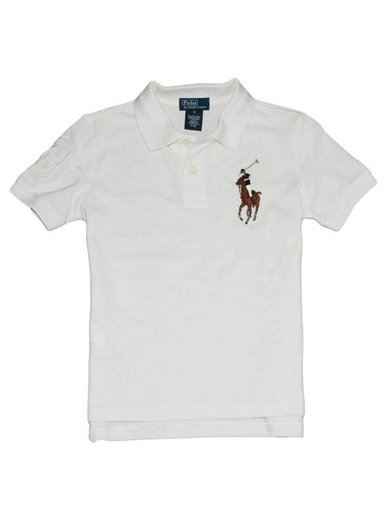 Ralph Lauren Polo Boys' Multicolor Big Pony Polo by Ralph Lauren - My100Brands