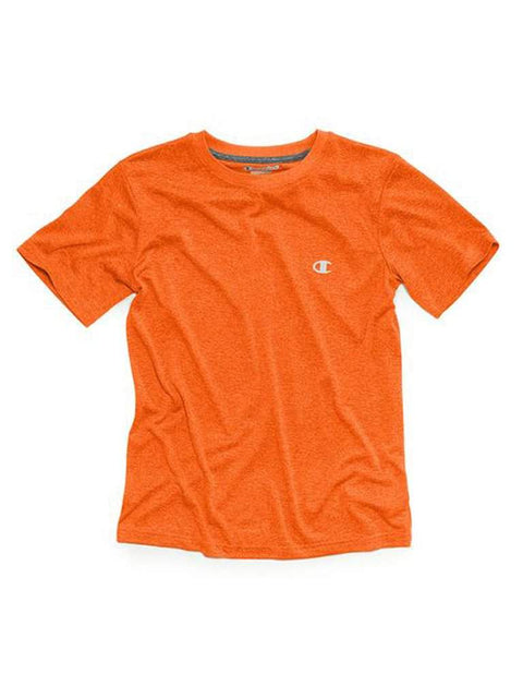 Champion Big Boys T-Shirt , Vapor Tee, Orange by Champion - My100Brands
