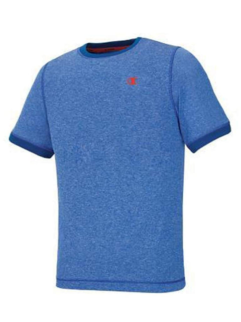 Champion Big Boys Vapor PowerTrain Short Sleeve Heather Tee by Champion - My100Brands