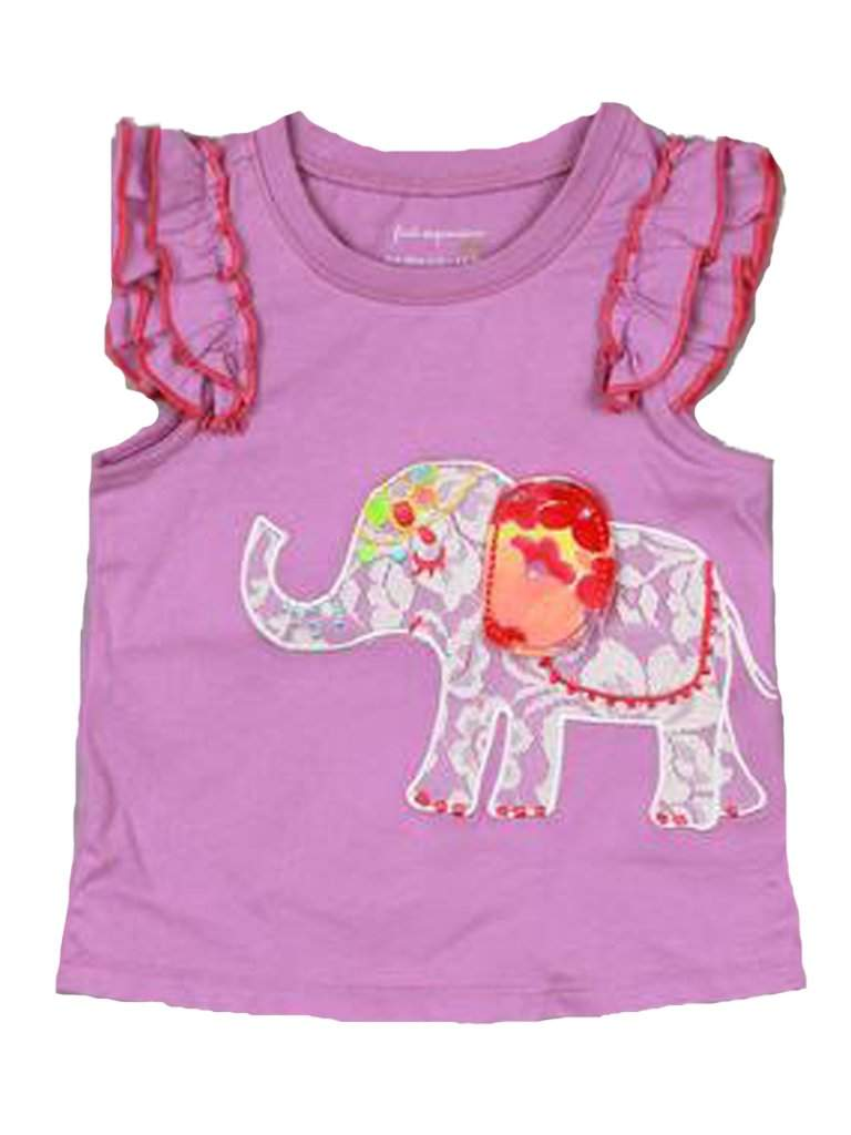 Baby Girls' Appliqued Tee by My100Brands - My100Brands
