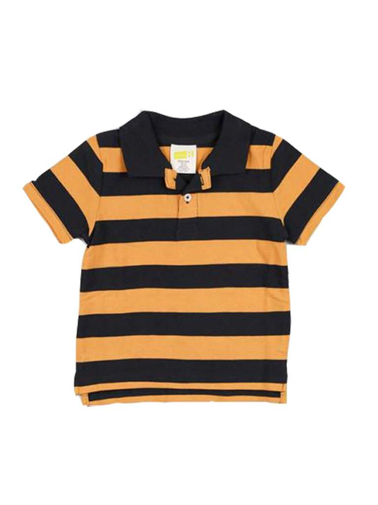Striped Baby Boy Polo T-Shirt by My100Brands - My100Brands
