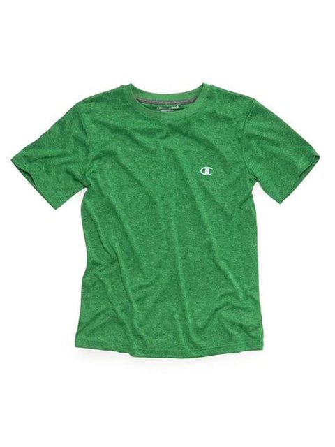 Champion Big  Boys T-Shirt , Vapor Tee,Electric Green Heather by Champion - My100Brands