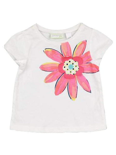 Baby Girls' Daisy Flower Tee by My100Brands - My100Brands