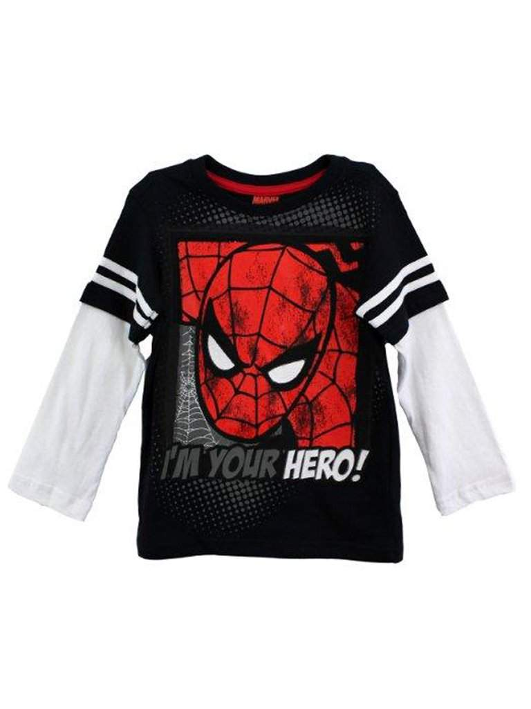 Spider-Man Marvel Comics I'm Your Hero T-Shirt by Spider-Man - My100Brands