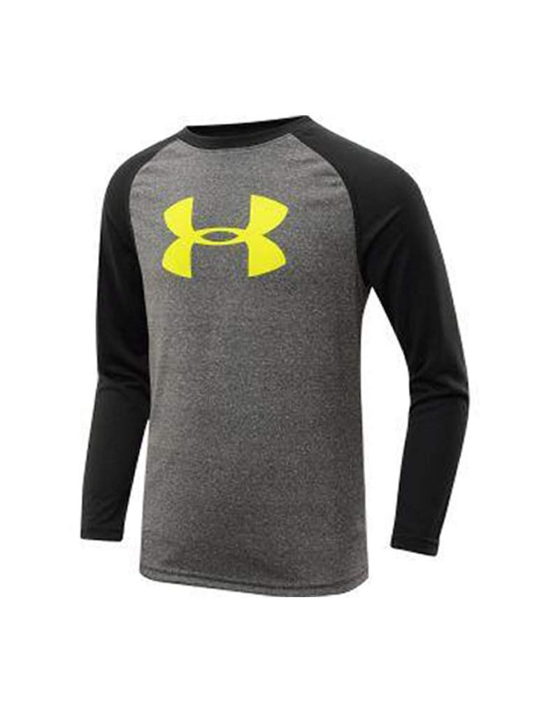 Under Armour Boys' Tech Big Logo Long Sleeve T-Shirt by Under Armour - My100Brands