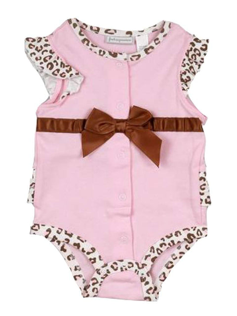 Baby Girls' French Creeper Bodysuit by My100Brands - My100Brands