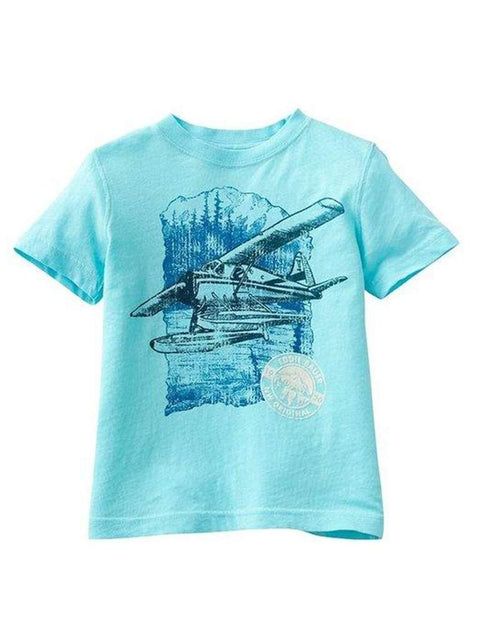 Eddie Bauer Airplane Tee Shirt by Eddie Bauer - My100Brands