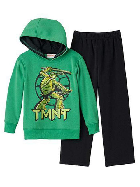 Teenage Mutant Ninja Turtles Boys' Hoodie and Sweatpants Set by My100Brands - My100Brands