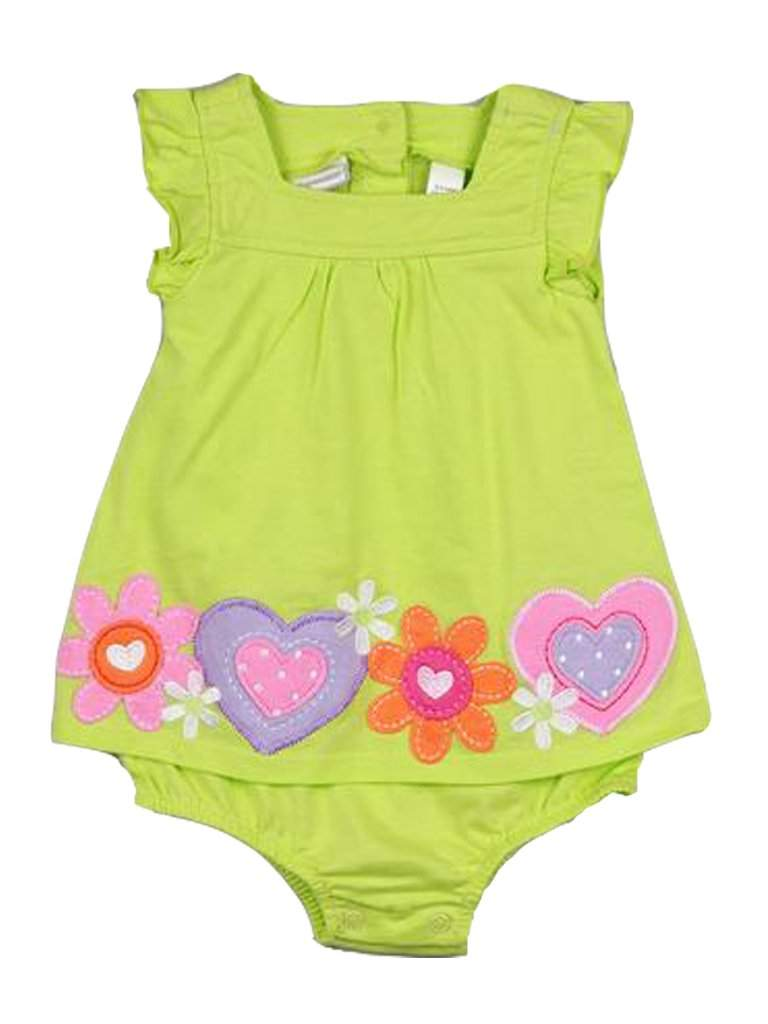 Baby Girls' Border Sunsuit by My100Brands - My100Brands
