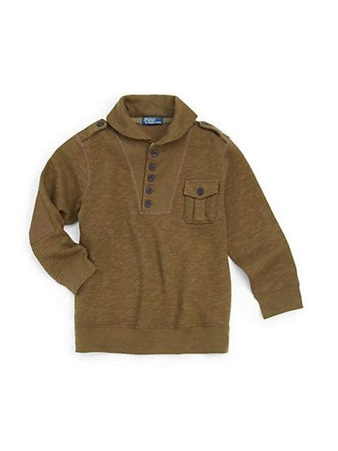 Ralph Lauren Boy's Shawl Collar Sweater by Ralph Lauren - My100Brands