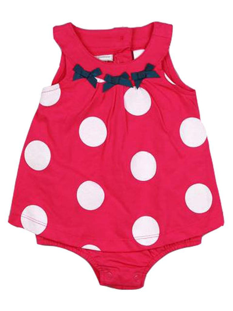 Baby Girls' Polka Dot Sunsuit by My100Brands - My100Brands
