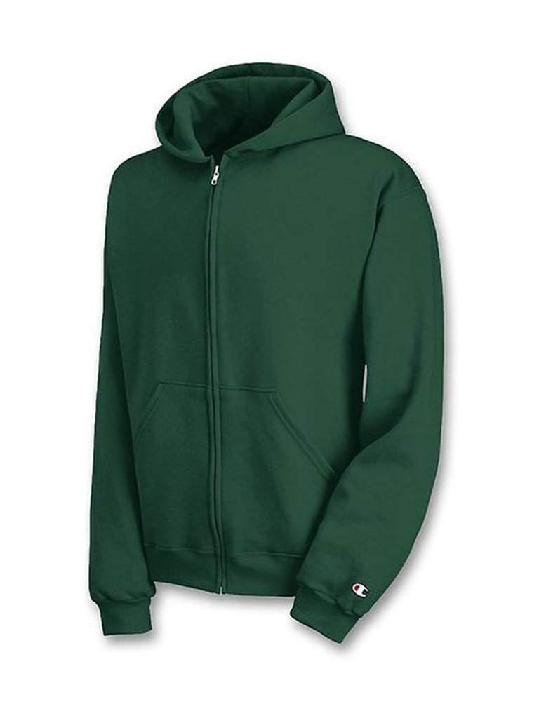 Champion Big Boys' Authentic Fleece Zip Front Hoodie by Champion - My100Brands